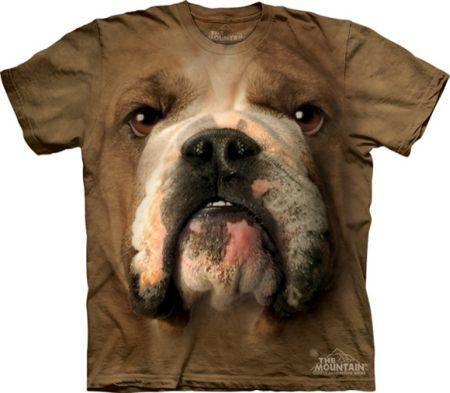 立体效果印花 逼真动物画像T恤